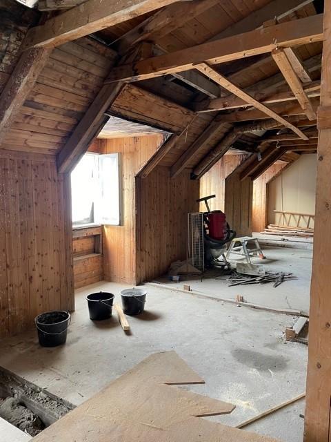 Renovering tak och ny vindsvåning